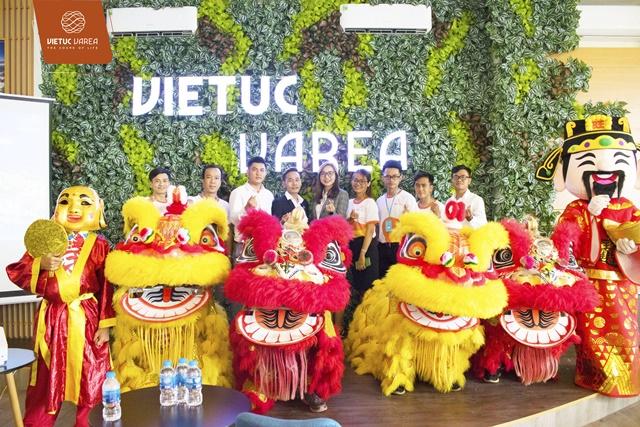 Lễ khởi công hoàn thiện Quảng trường nhạc nước VIETUC Varea