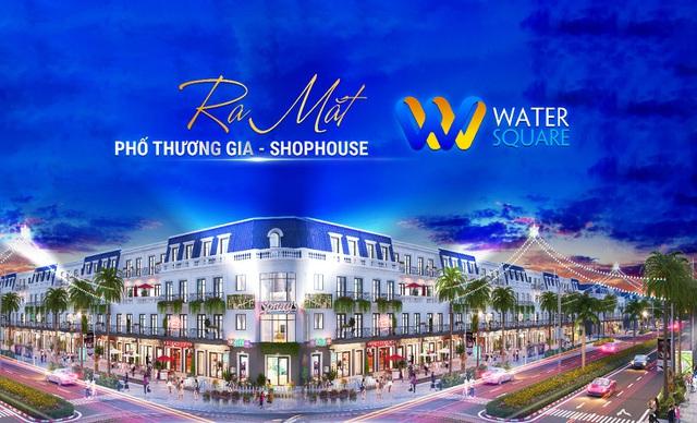 THỊNH HƯNG Holdings ra mắt phân khu Phố Thương Gia - Shophouse WATER SQUARE