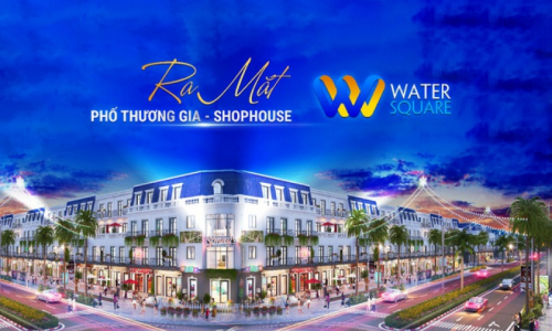 Dân Trí: Khu Tây tiếp tục dậy sóng với siêu phẩm Phố Thương gia Water Square